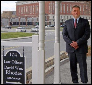 David W. Rhodes Across From Montgomery County VA Courthouse   2